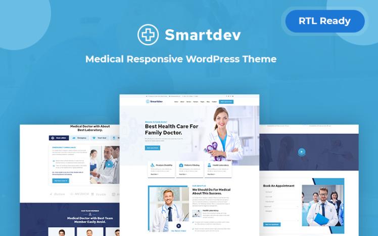 Smartdev Medical Responsive WordPress Theme