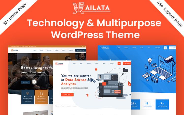 Ailata Technology amp Multipurpose WordPress Theme