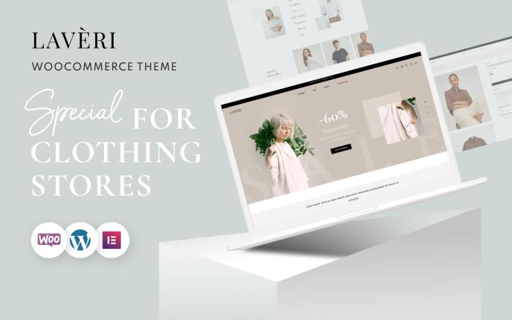 Clothing Store WooCommerce WordPress Theme Laveri