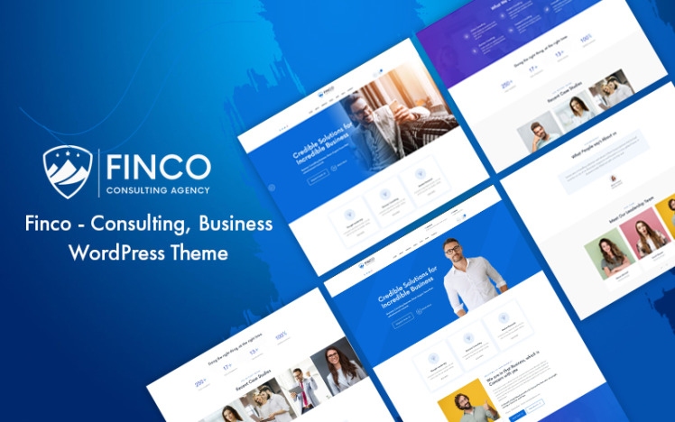 Finco Consulting Business WordPress Theme