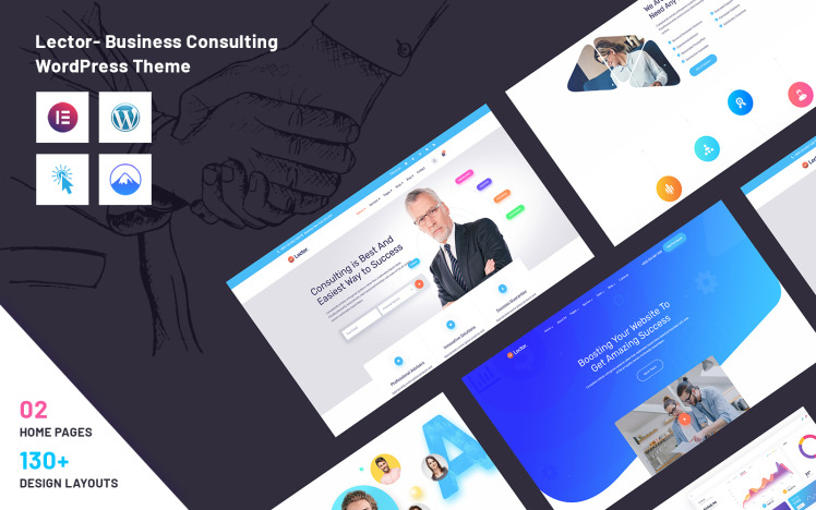 Lector Business Consulting WordPress Theme