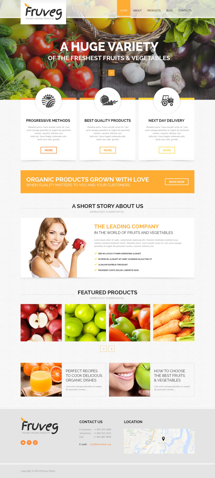 The Best Organic Products Joomla Templates