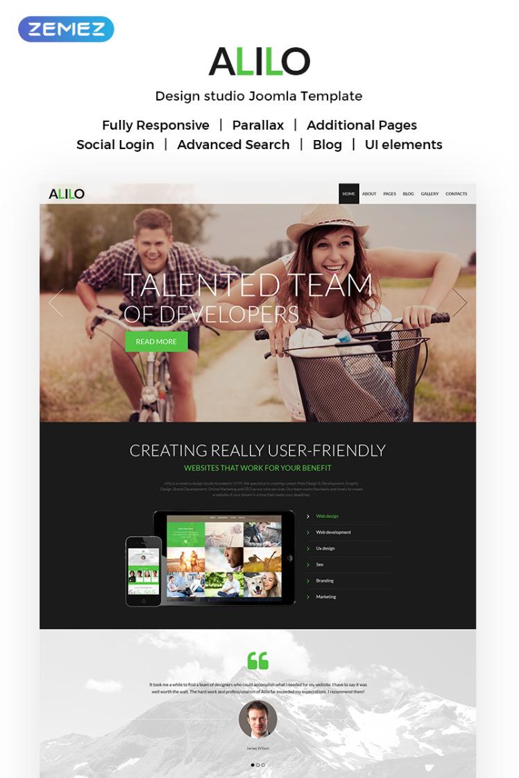 Alilo Web Design Multipage Modern Joomla Templates