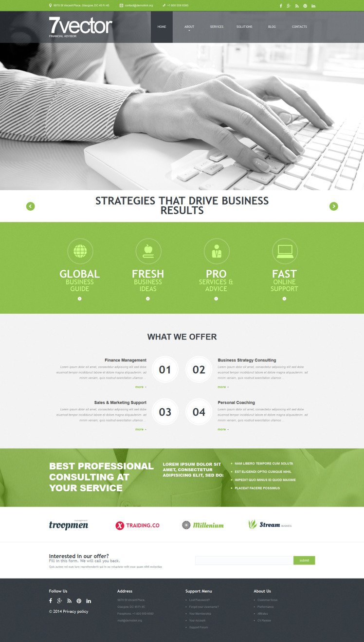 Experienced Consulting Group Joomla Template