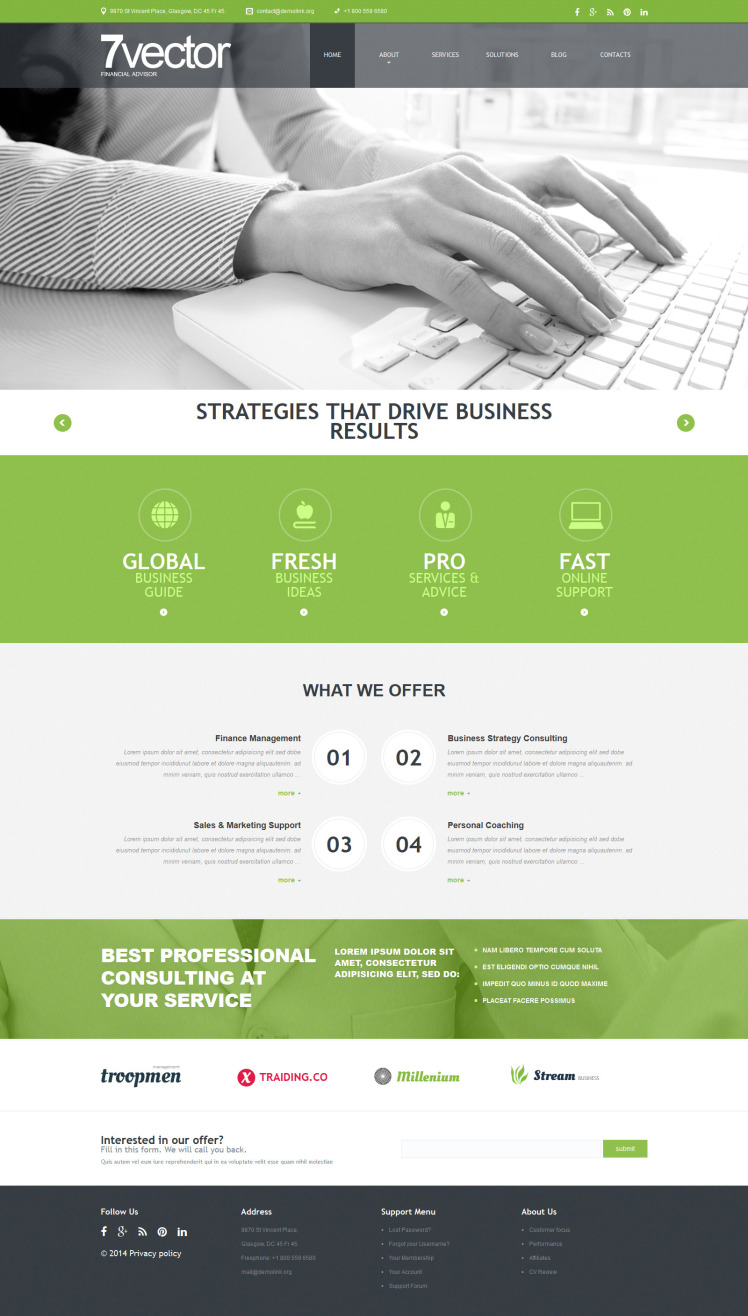 Experienced Consulting Group Joomla Templates