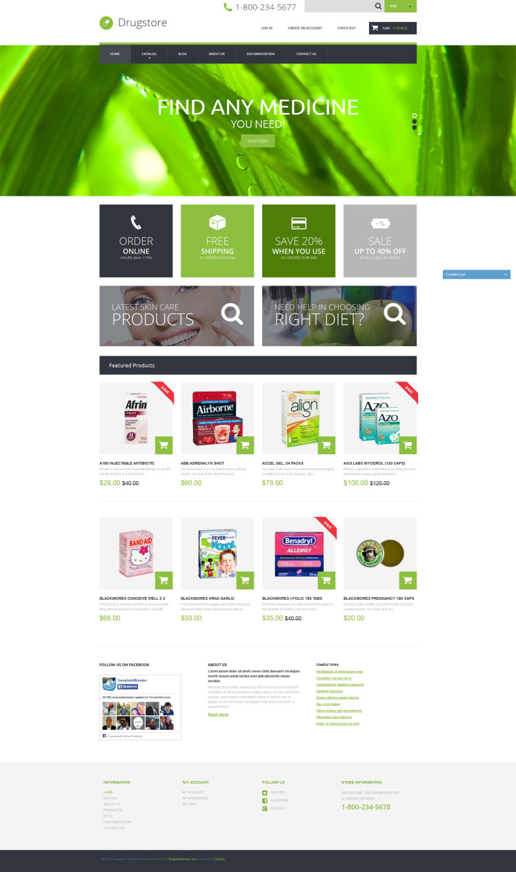 Drugstore Shopify Themes