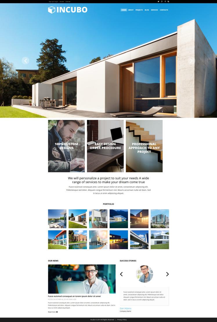 Modern Design Board Joomla Templates