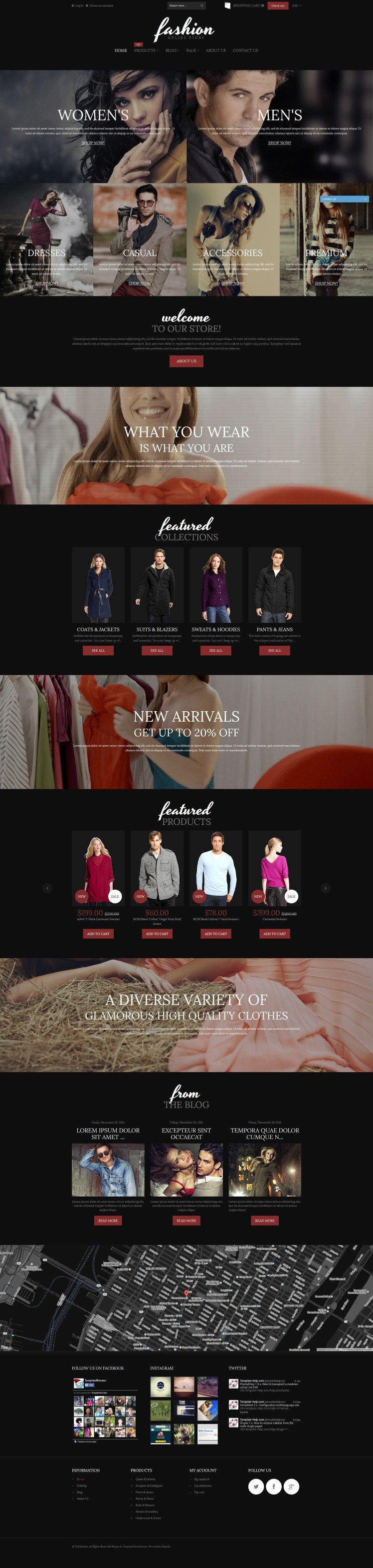 Fashion Online Store Shopify Themes