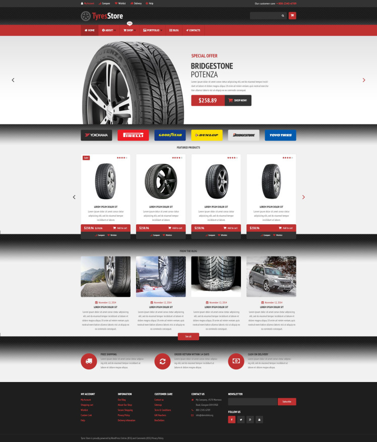 Auto Parts Store WooCommerce Themes