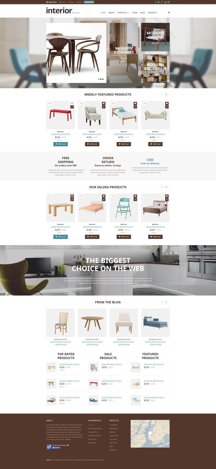 Special Furniture Store WooCommerce Themes