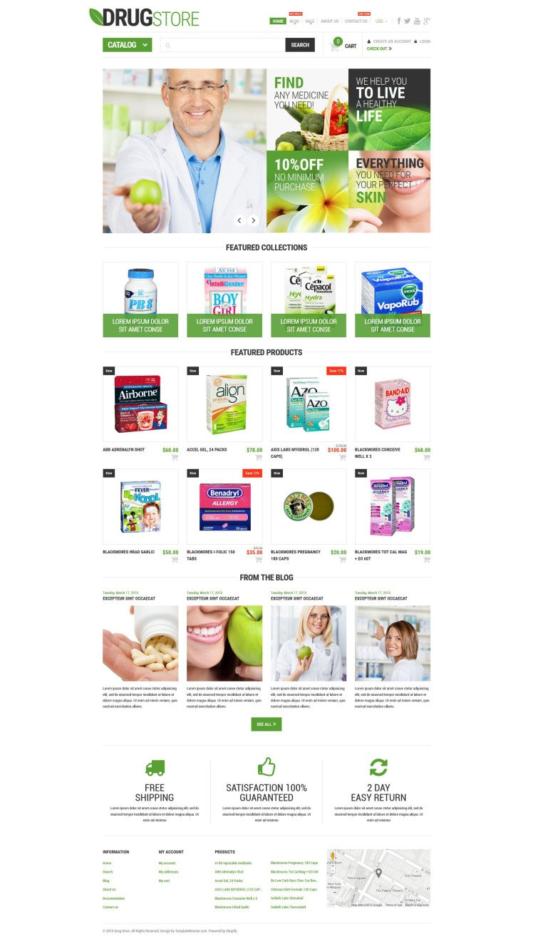 Pharmaceutical Business Shopify Theme
