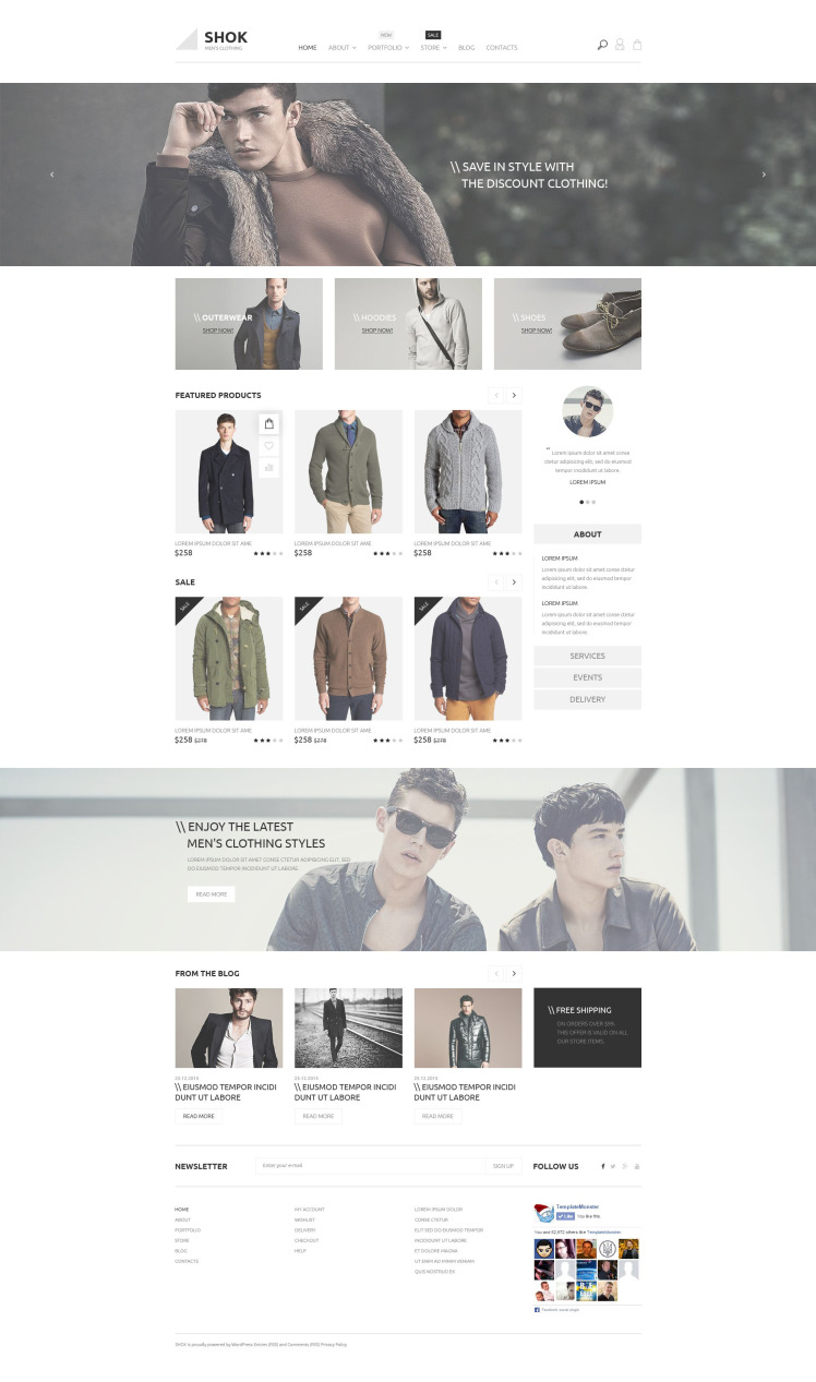 Shok WooCommerce Themes
