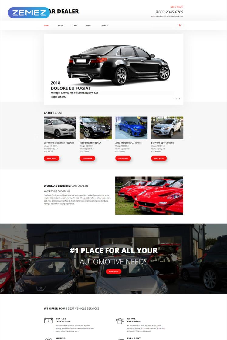 Car Dealer Car Dealer Clean Joomla Templates