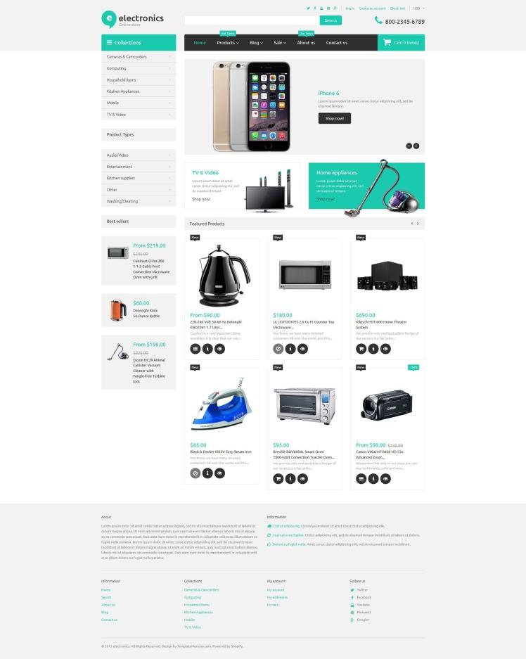 Electronics Retailer Shopify Theme