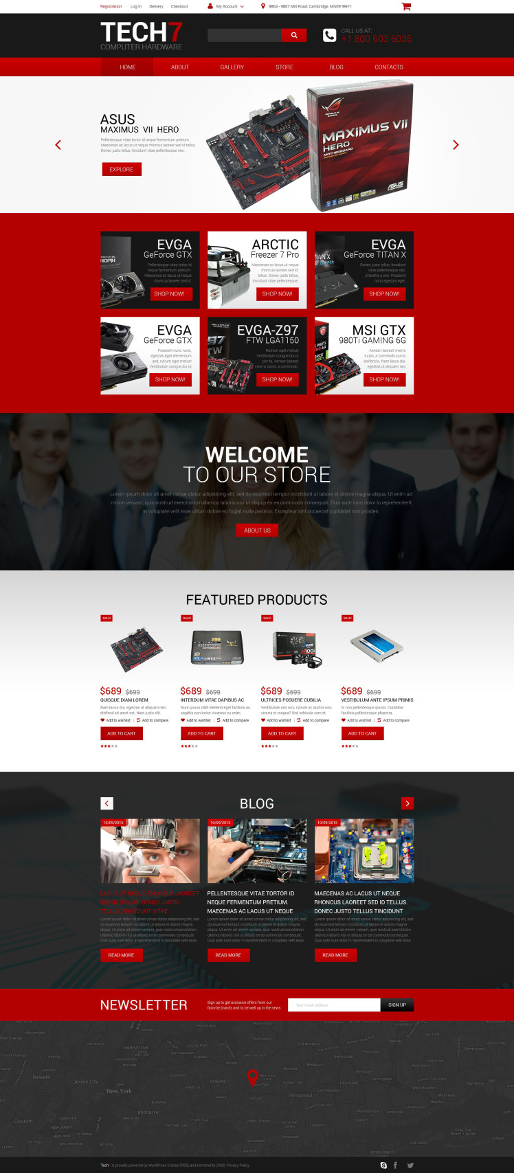 Computer Hardware WooCommerce Themes