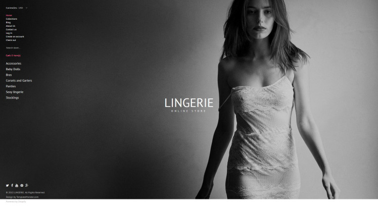 Lingerie Shopify Themes