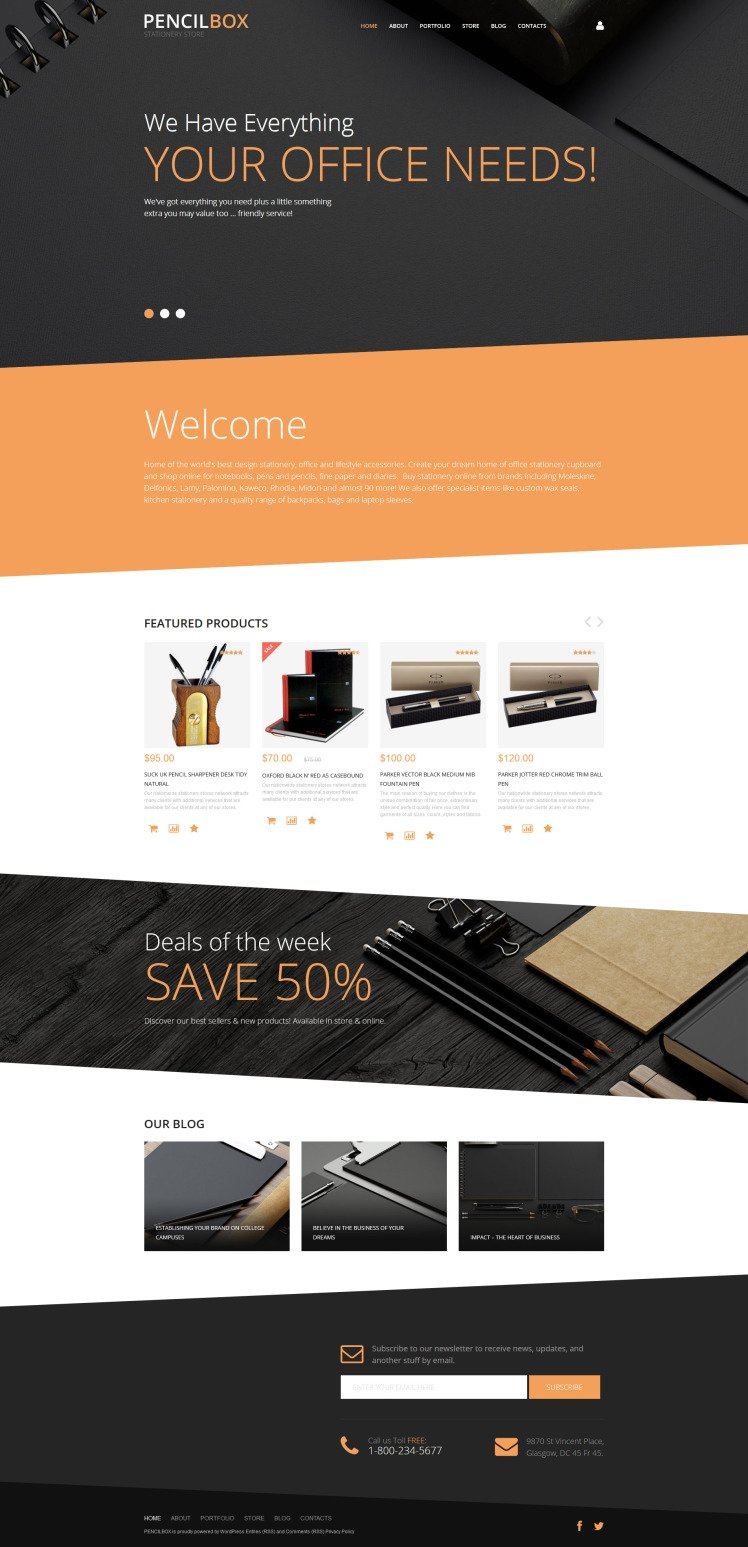 PencilBox WooCommerce Themes