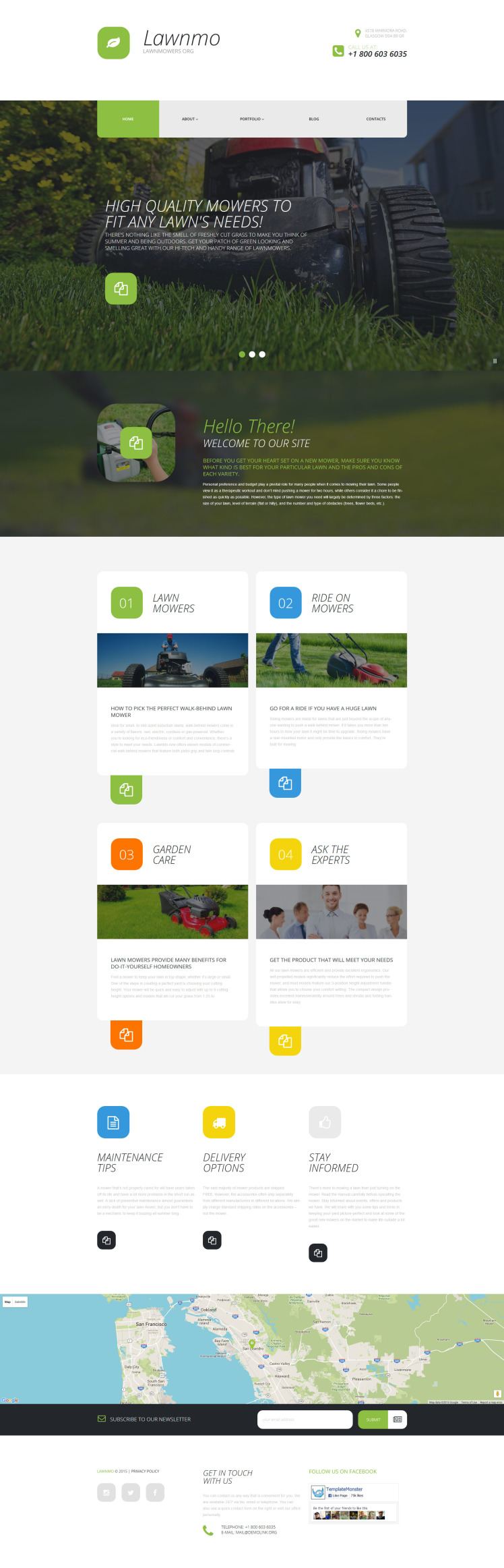 Lawnmo WordPress Themes
