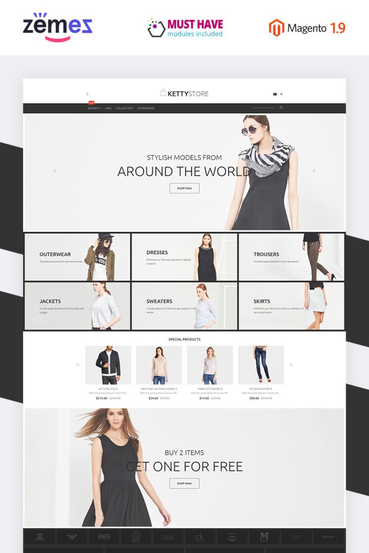 KettyStore Magento Themes