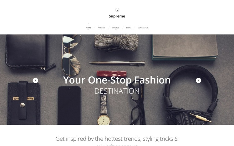 Supreme WordPress Themes
