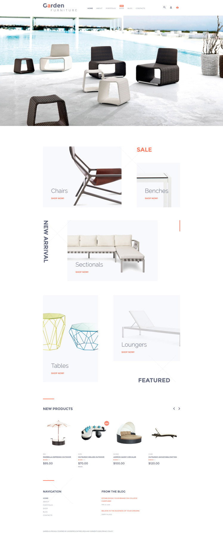 Garden Furniture WooCommerce Themes