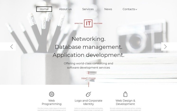 Effective IT Solutions WordPress Themes