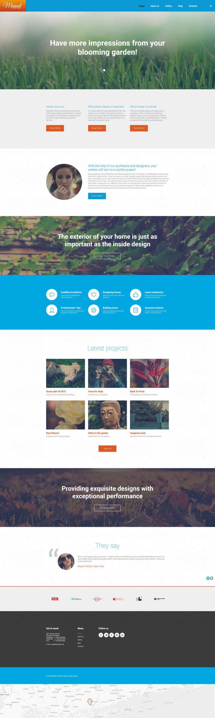 Manuel WordPress Themes