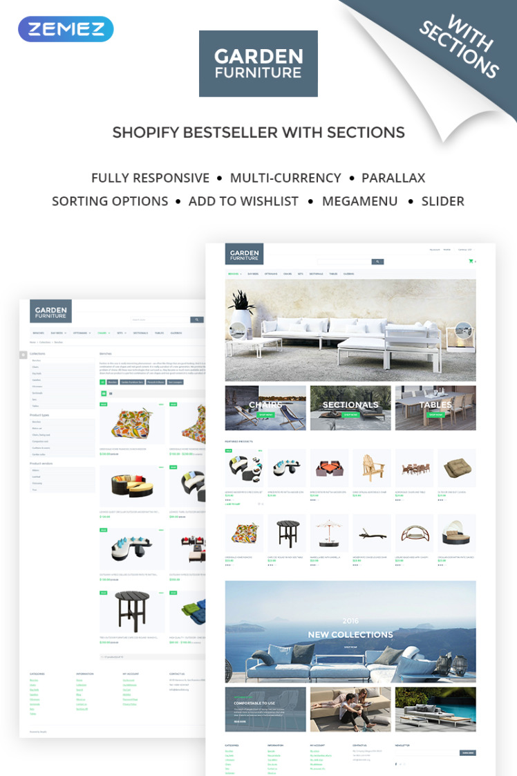 Garden Furniture Furniture amp Interior Design Shopify Theme