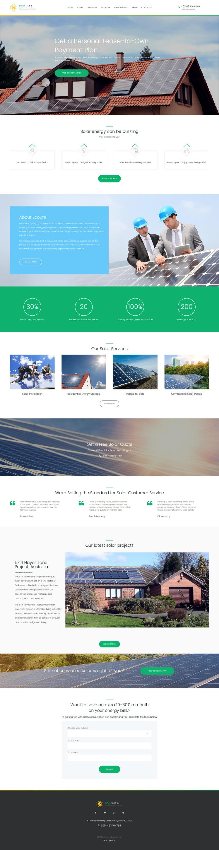Eco Life Environment Ecology WordPress Theme