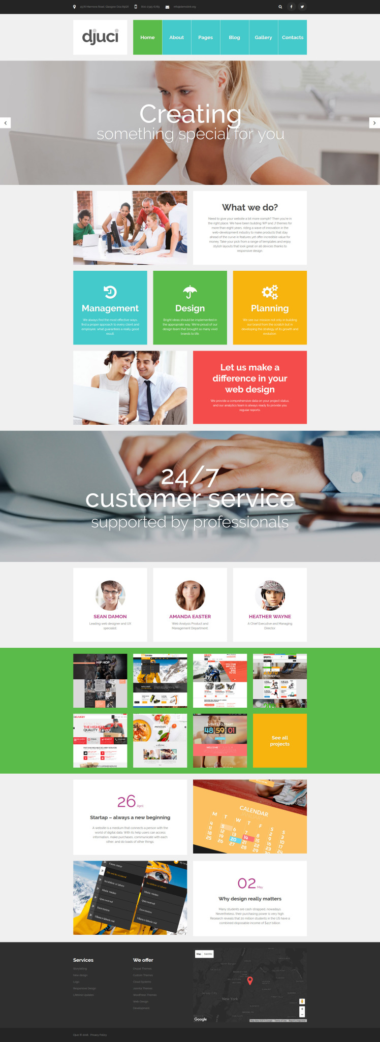 Djuci Web Design Agency Joomla Templates