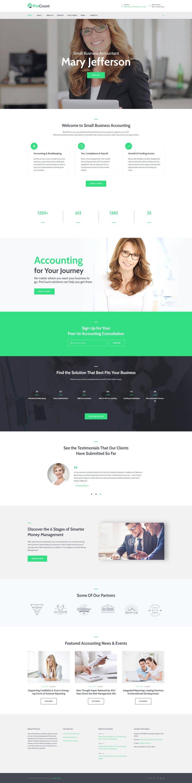 ProCount Accountant Financial Business WordPress Theme
