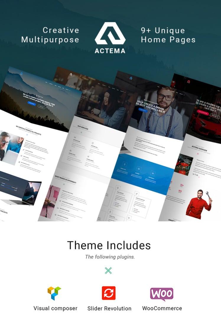 Actema Creative Business Multipurpose WordPress Theme