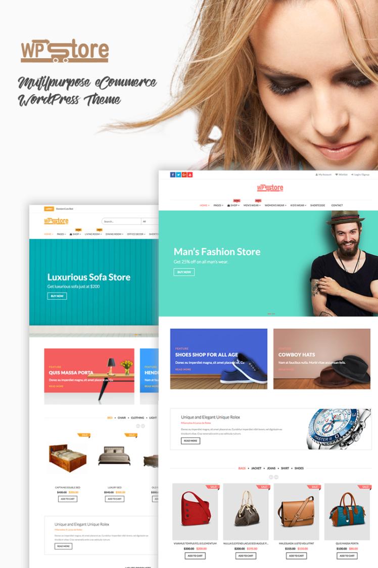 WP Store Pro WooCommerce Theme