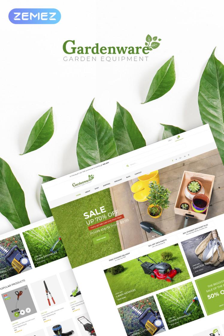 Gardenware Garden Equipment WooCommerce Theme