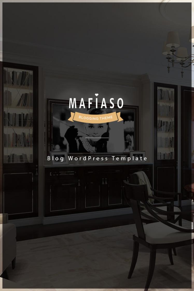 Mafiaso Blog WordPress Theme