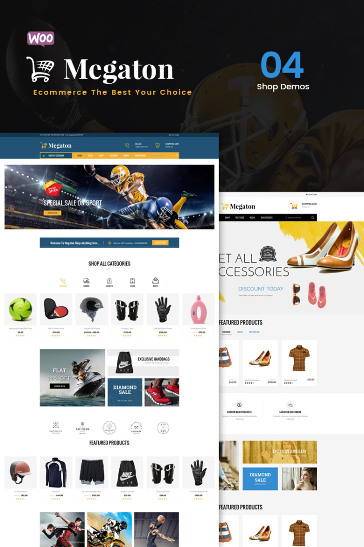 Megaton WooCommerce Theme