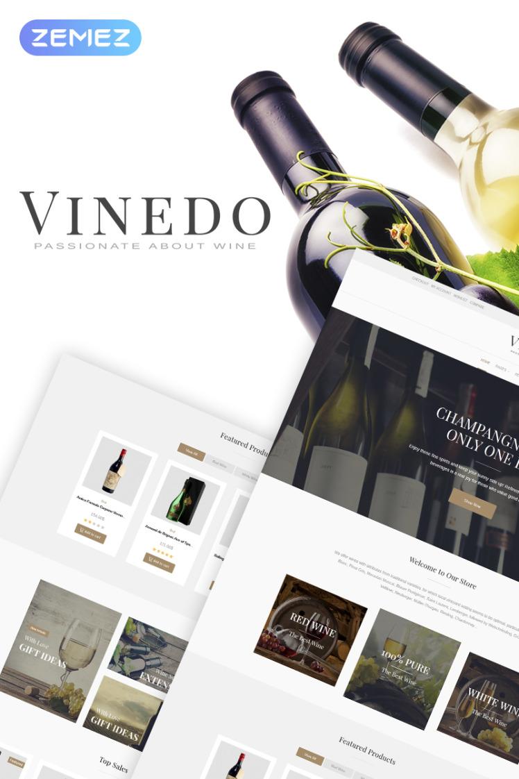 Vinedo Vinery Elementor WooCommerce Theme