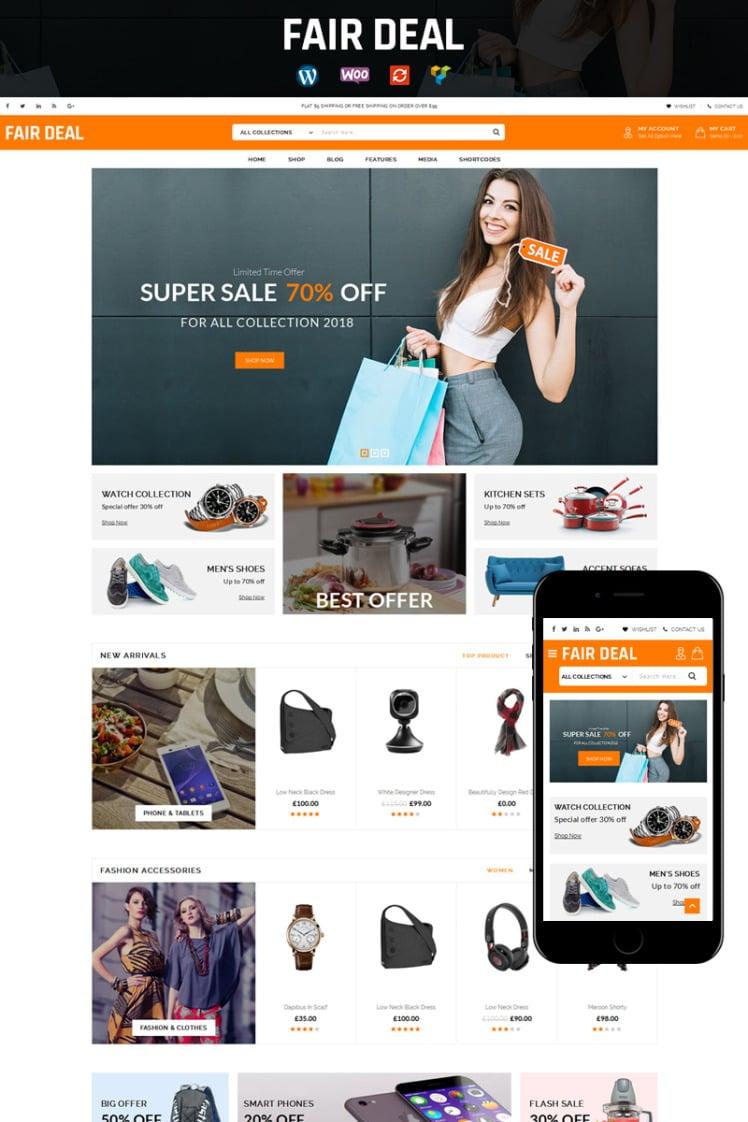 FairDeal Multipurpose Store WooCommerce Theme