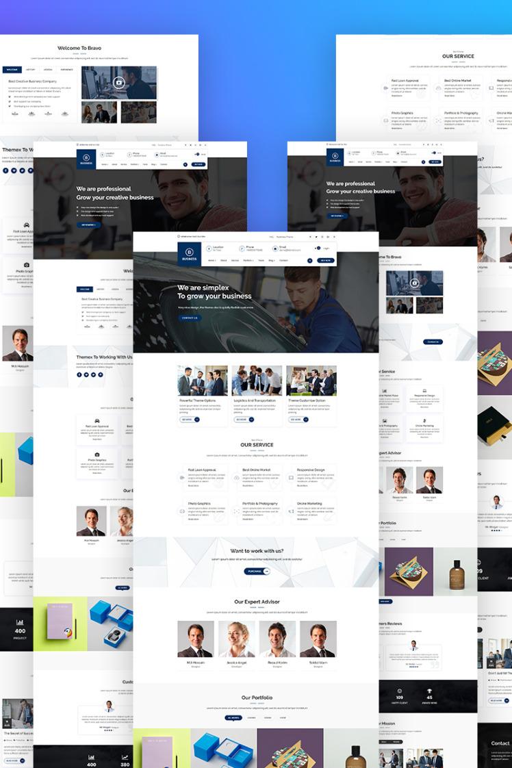 Bravvo Corporate Responsive WordPress Theme