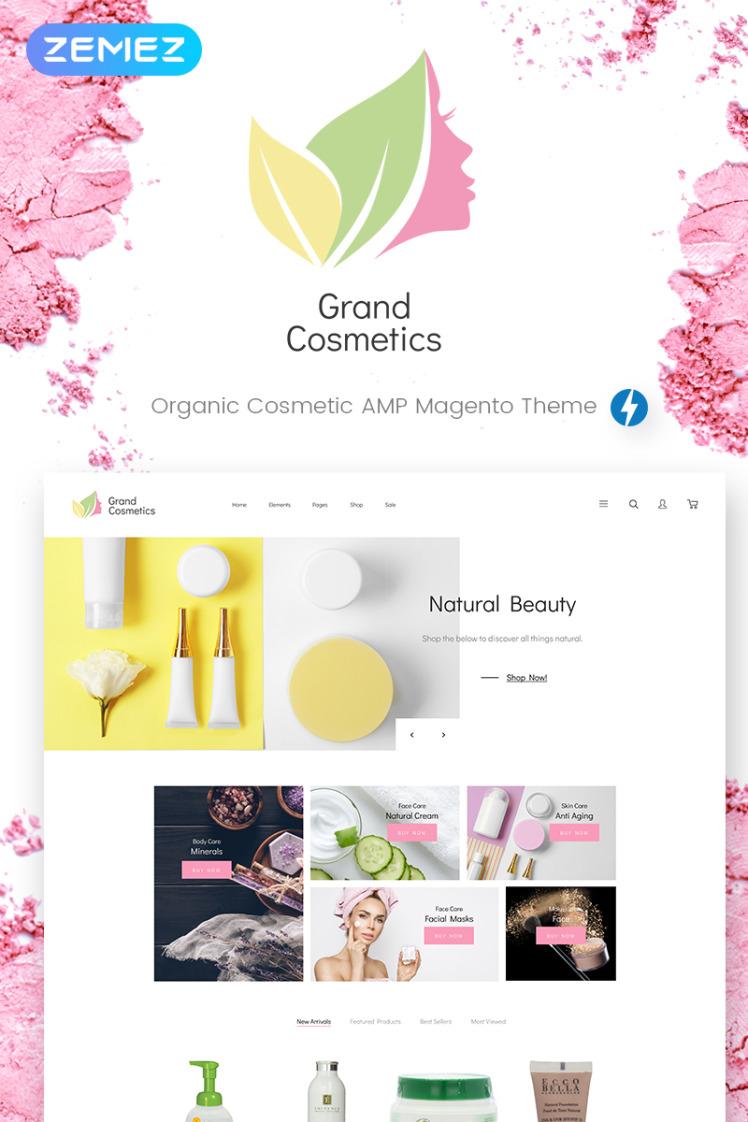 GrandCosmetics Cosmetics Store Magento Themes