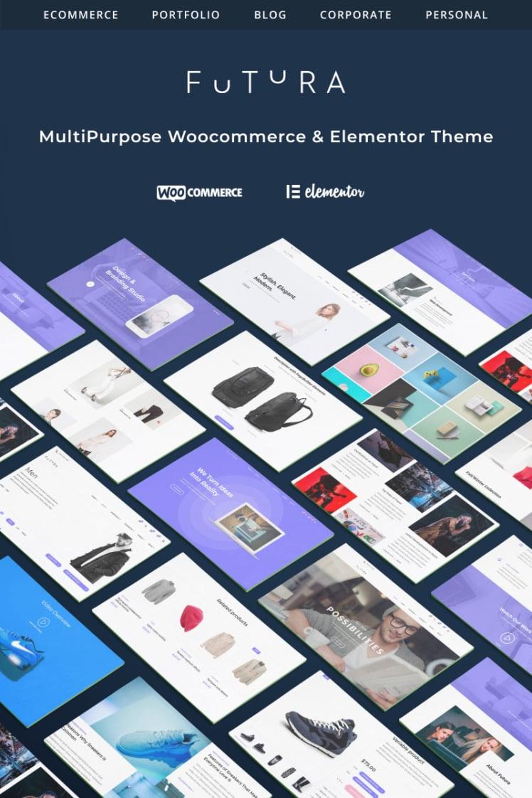 Futura MultiPurpose HighPerfomance Elementor ampamp WooCommerce Theme