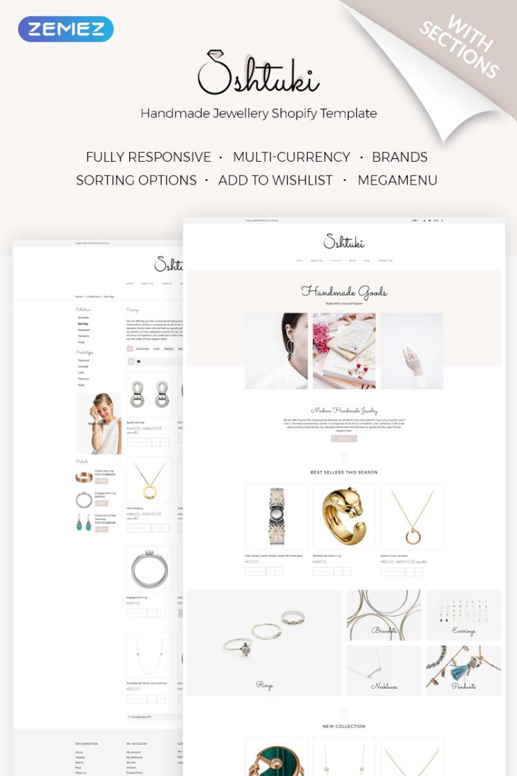 Shtuki Handmade Goods Shopify Themes