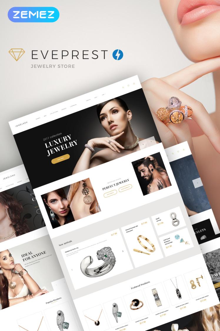 Eveprest Jewelry Jewelry Store PrestaShop Themes