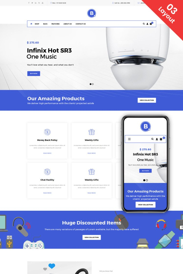 BigStar Multipurpose Store WooCommerce Theme
