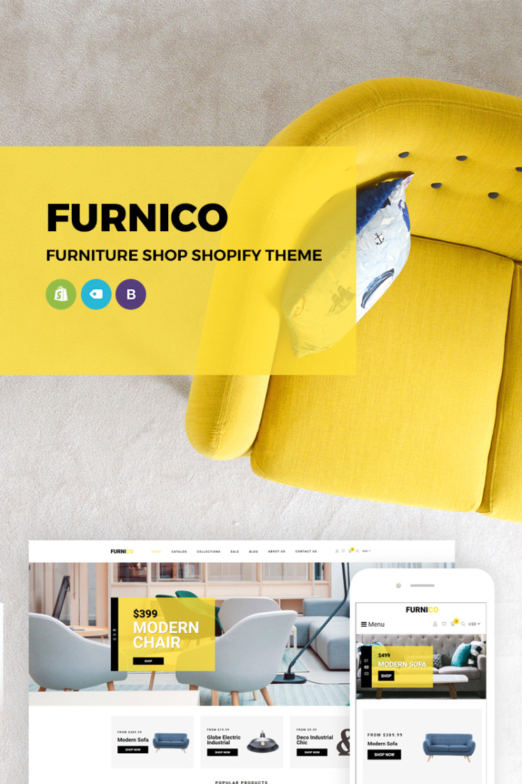 Furnico Furniture Shop Shopify Themes