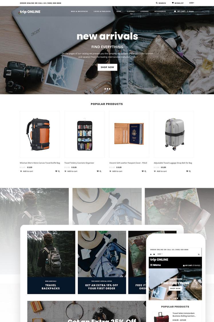 Trip Online Shopify Themes
