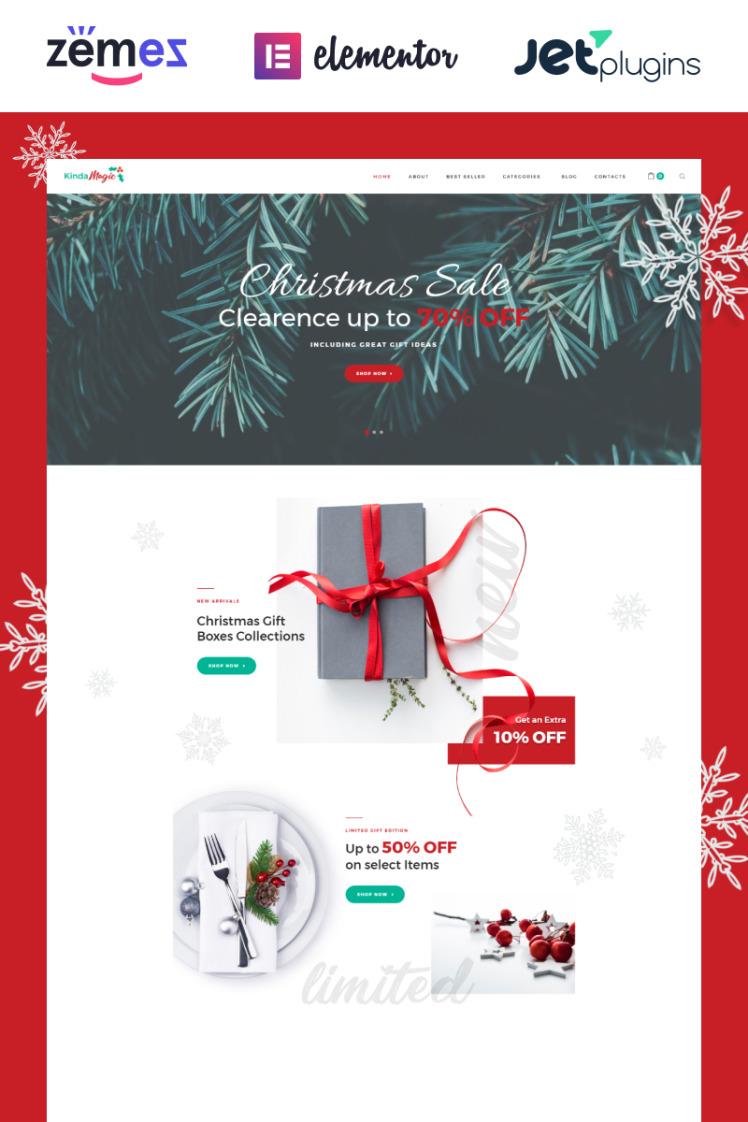 Kinda Magic Magical And Inspiring Christmas WooCommerce Themes