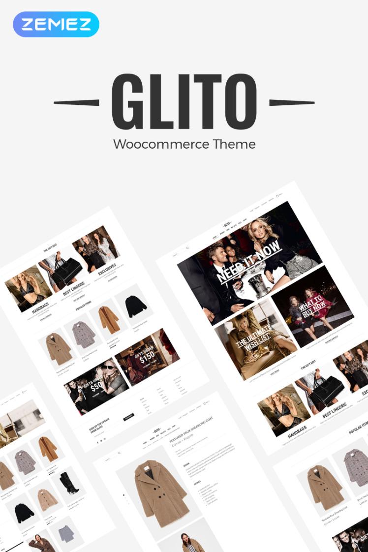 Glito Fashion Store ECommerce Modern Elementor WooCommerce Theme