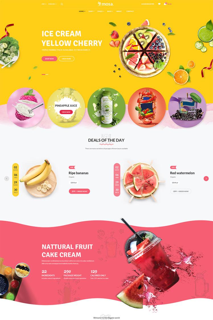 Mosa Organic WooCommerce Themes