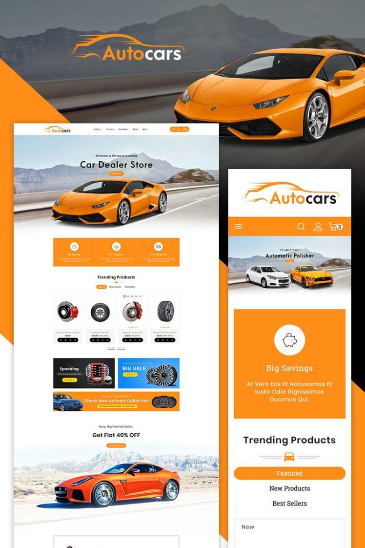 Auto Parts Cars PrestaShop Themes